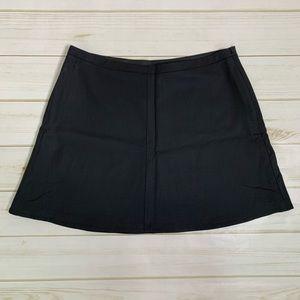 Black mini skirt a-line skirt by BCBG MaxAzria